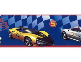 Prepasted Wallpaper Borders - Cars Wall Paper Border BT2791