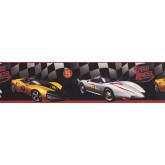 Prepasted Wallpaper Borders - Cars Wall Paper Border BT2792