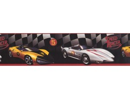 6 in x 15 ft Prepasted Wallpaper Borders - Cars Wall Paper Border BT2792