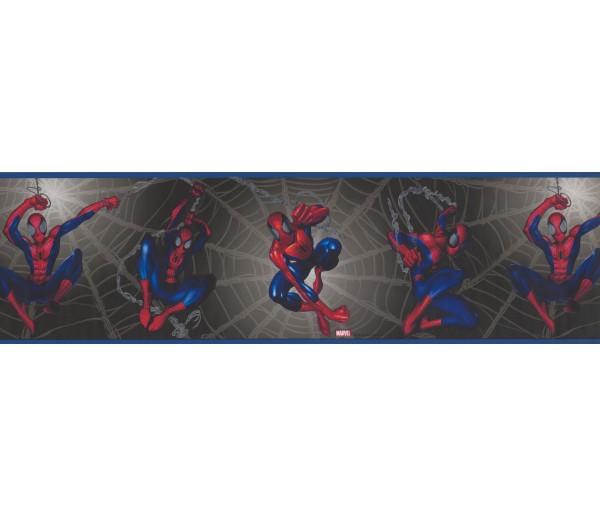 Marvel Black Spiderman Kids Wallpaper Border