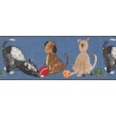 Clearance: Animals Wallpaper Border BZ9143