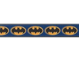 Kids Wallpaper Border - Batman Logo Wall Border BZ9230