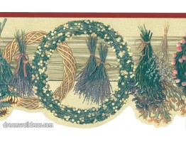 89234 CBO Floral Wallpaper Border