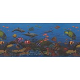 Sea World Borders 10143 CK Sea World Wallpaper Border