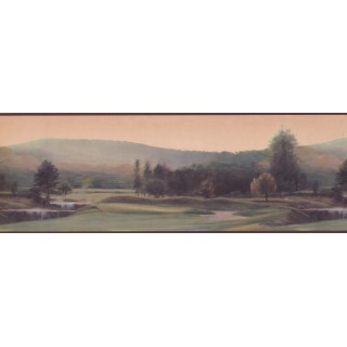 7 in x 15 ft Prepasted Wallpaper Borders - Burgundy Sow Good Deeds Wall Paper Border