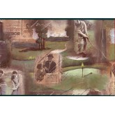 Golf Wallpaper Borders: Golf wallpaper Border GF7108