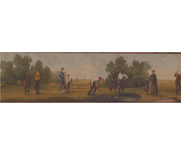 Golf Wallpaper Borders: Sports Golf Wallpaper Border