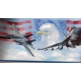 Country Wallpaper Borders: US Airforce Wallpaper Border
