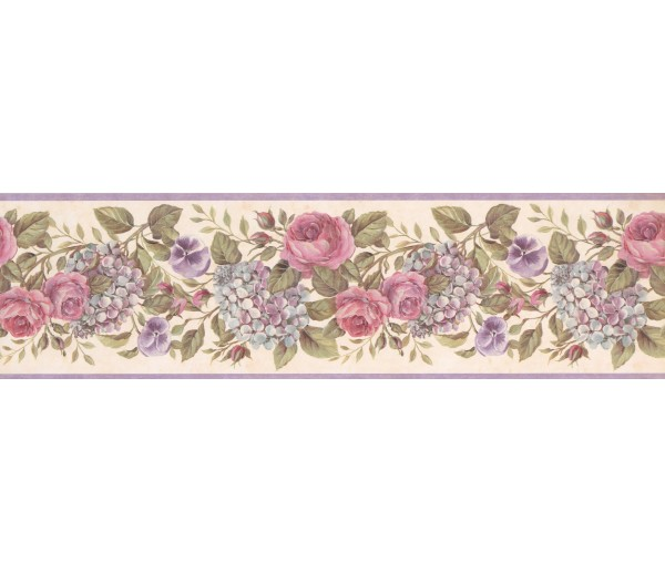 Floral Wallpaper Borders: Floral Wallpaper Border GU92103