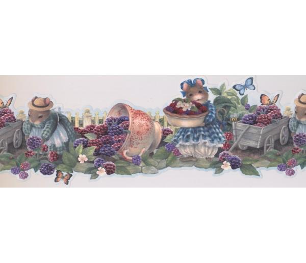 Garden Wallpaper Borders: Garden Wallpaper Border 30271 HH