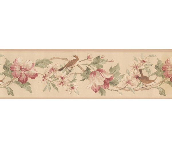 Garden Wallpaper Borders: Norwall Fresh Country Single Rolls Wallpaper Border
