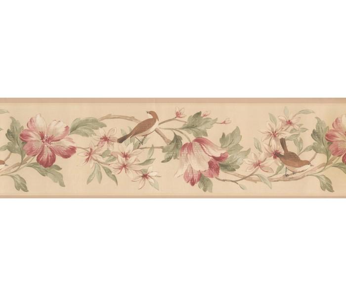 Garden Wallpaper Borders: Norwall Fresh Country Single Rolls Wallpaper Border