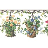 Garden Borders 4070 HRB Floral Wallpaper Border