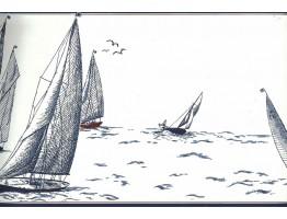 Sail Boats  Wallpaper Border