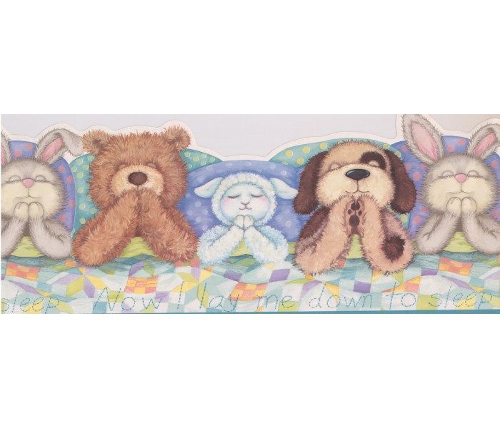 Toys Wallpaper Borders: Kids Sleeping Toys Wallpaper Border IB9948