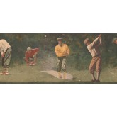 Golf Borders Golf Course Wallpaper Border York Wallcoverings
