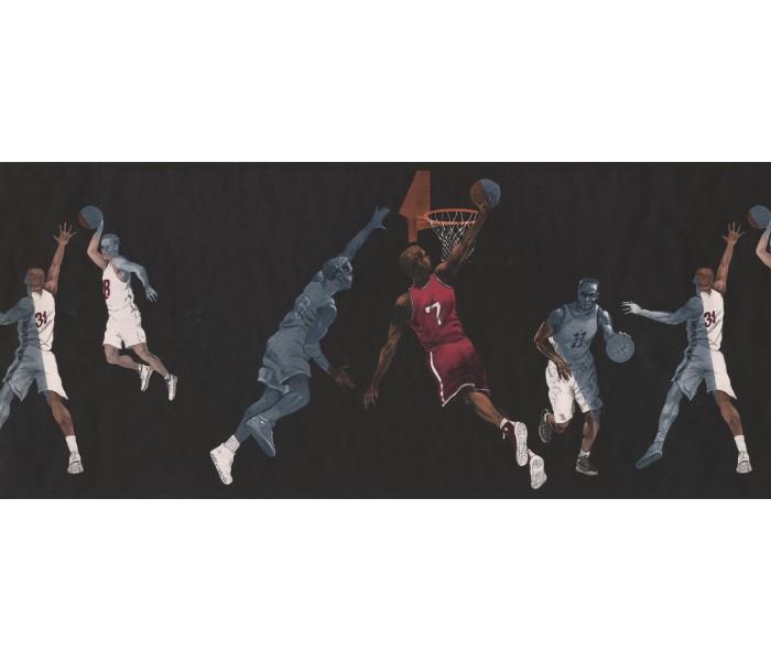 Basketball Wallpaper Borders: Sport Basketball Wallpaper Border 2662IN