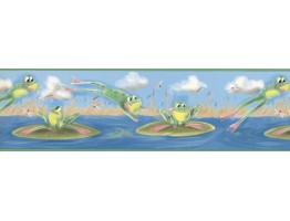 7 in x 15 ft Prepasted Wallpaper Borders - Kids Wall Paper Border IT7569