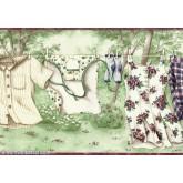 6151 KB Laundry Wallpaper Border