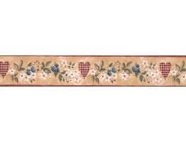 Floral Wallpaper Border KC063223