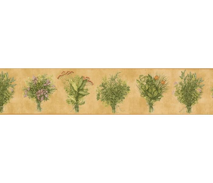 Garden Wallpaper Borders: Flower Plant bokeh Wallpaper Border