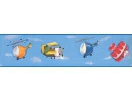 Prepasted Wallpaper Borders - Kids Wall Paper Border KJ0392