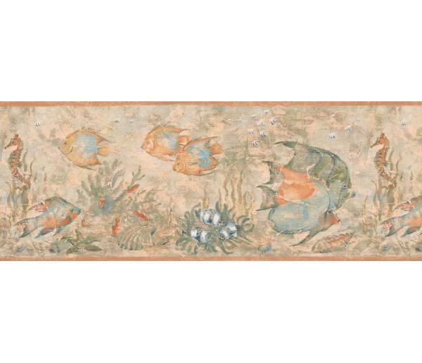 Fish Blue Angel Fish Wallpaper Border York Wallcoverings