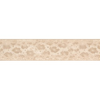 5 in x 15 ft Prepasted Wallpaper Borders - Beige Snake Skin Wall Paper Border