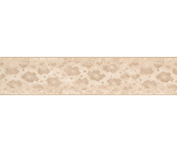 Contemporary Wall Borders: Beige Snake Skin Wallpaper Border