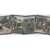 Golf Wallpaper Borders: Golf Tips Books Wallpaper Border