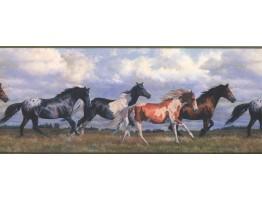 Horses Wallpaper Border NY9448