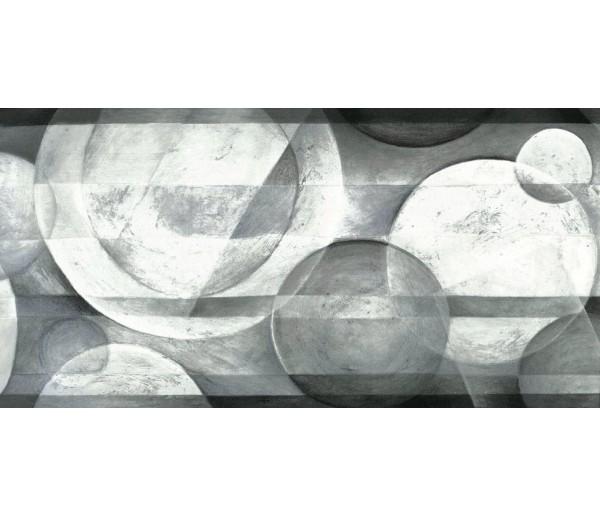 Paintable Borders Black White Plate Designs Wallpaper Border