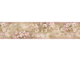 Watercolor Floral Wallpaper Borderr
