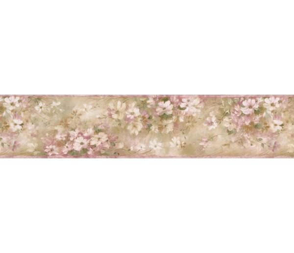 Garden Wallpaper Borders: Watercolor Floral Wallpaper Borderr