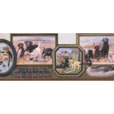 Hunting Hunting Dogs Wallpaper Border York Wallcoverings