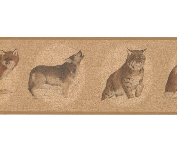 Cats Wallpaper Borders: White Brown Cat Sketch Wallpaper Border