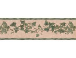 028142SR Floral Wallpaper Border