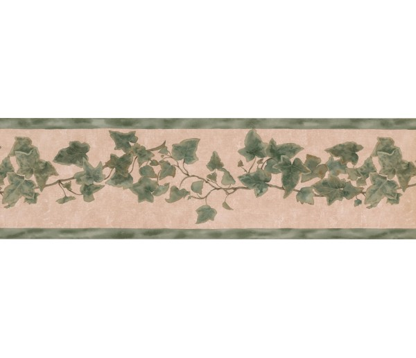 Garden Borders 028142SR Floral Wallpaper Border