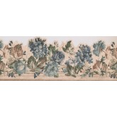 Floral Wallpaper Borders: 28104 SCO Floral Wallpaper Border