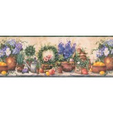 Garden Wallpaper Borders: Green Gardening Wallpaper Border
