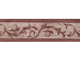Bordo White Vintage Molding Wallpaper Border