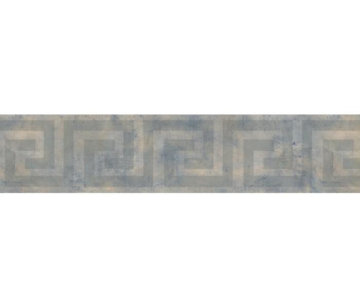 Vintage Wallpaper Borders: Blurred Green Maze Wallpaper Border