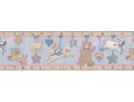 Prepasted Wallpaper Borders - MOBILE TOY Wall Paper Border