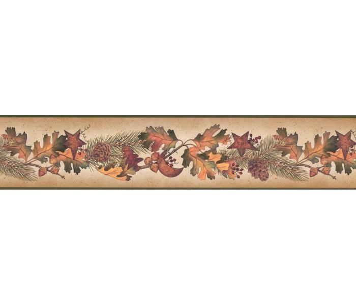 Garden Wallpaper Borders: Running Fruit Plants Wallpaper Border