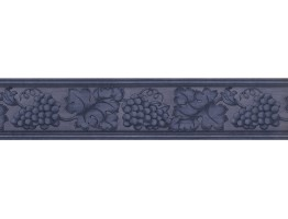Prepasted Wallpaper Borders - Blue Grape Plant Wall Paper Border