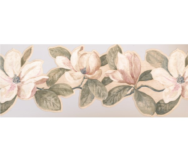 Floral Borders Floral Wallpaper Border VG8548