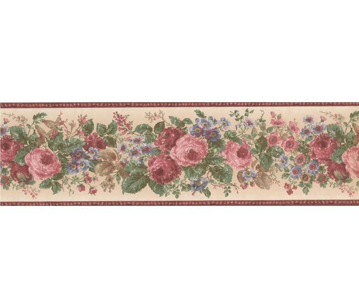 Garden Wallpaper Borders: FRESH COUNTRY Wallpaper Border
