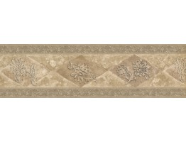 Leaf Cut Diamond Wallpaper Border 76849WD