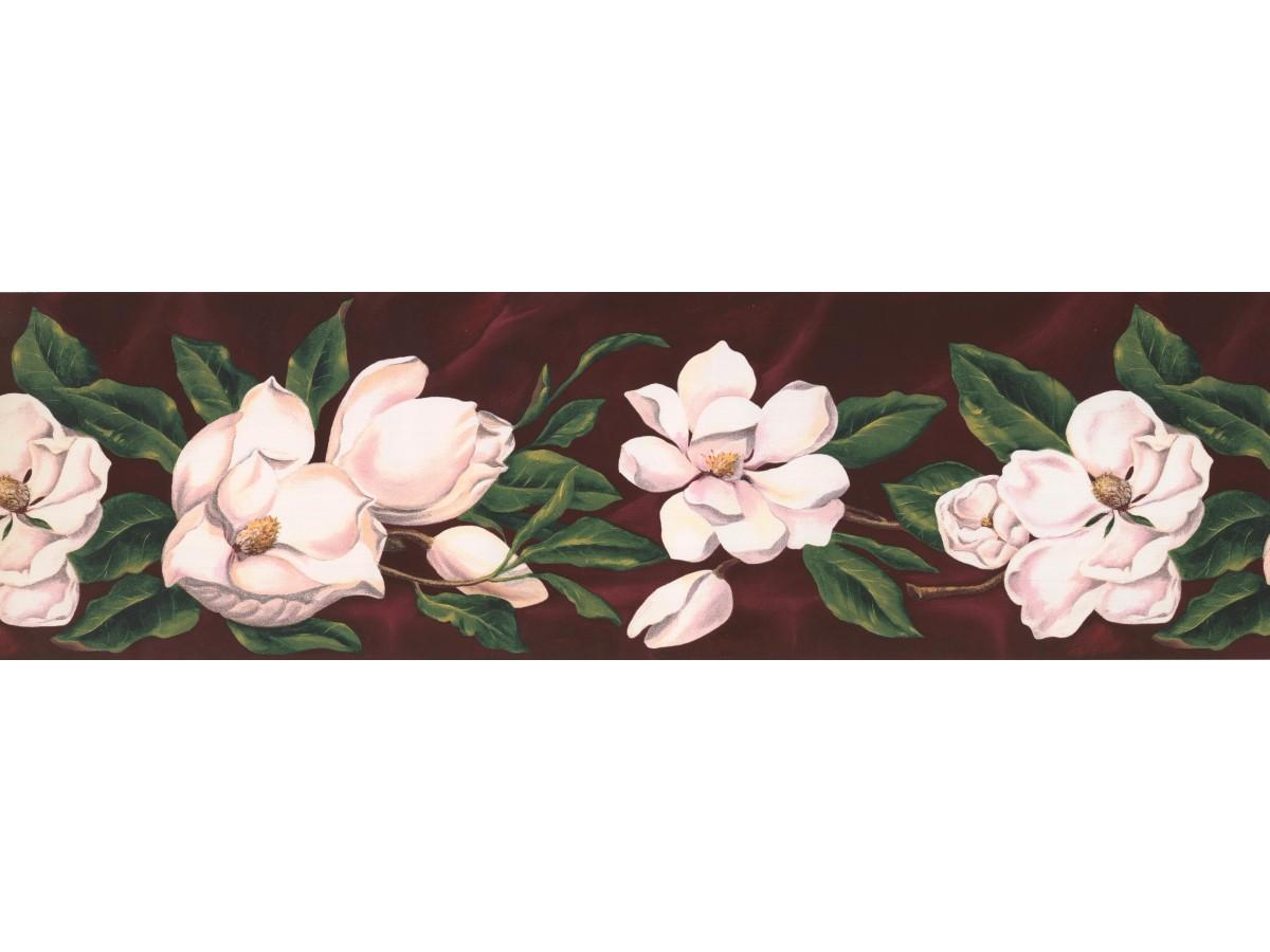 Floral Wallpaper Border Wt1017