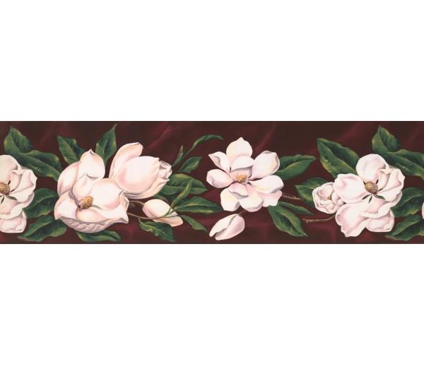 Garden Wallpaper Borders: Floral Wallpaper Border WT1017